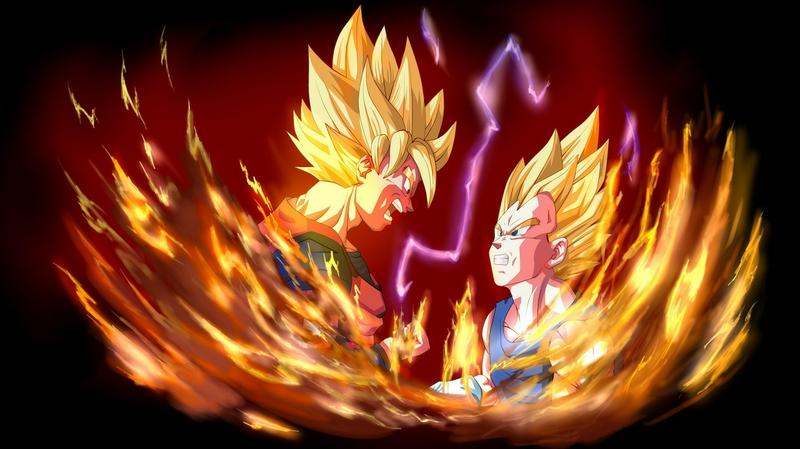 goku vegeta Goku vs Vegeta Anime Dragonball HD Desktop Wallpaper 800x449