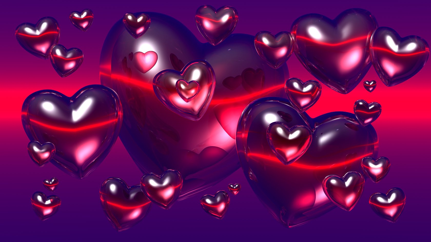 Love Heart Wallpaper Background 3d : 3D Heart Wallpaper - WallpaperSafari