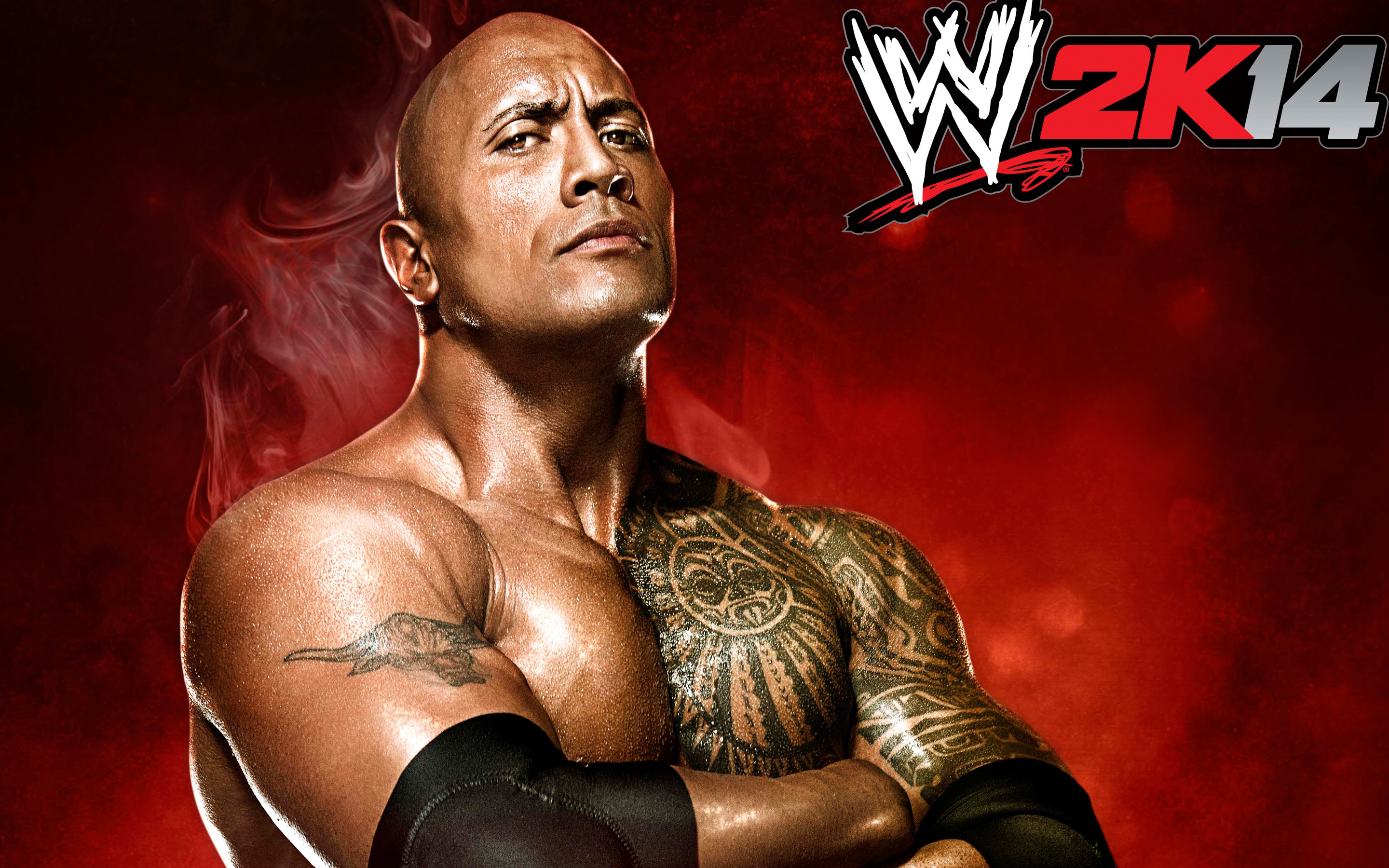 WWE 2K14 Game Wallpapers HD Wallpapers 2880x1800