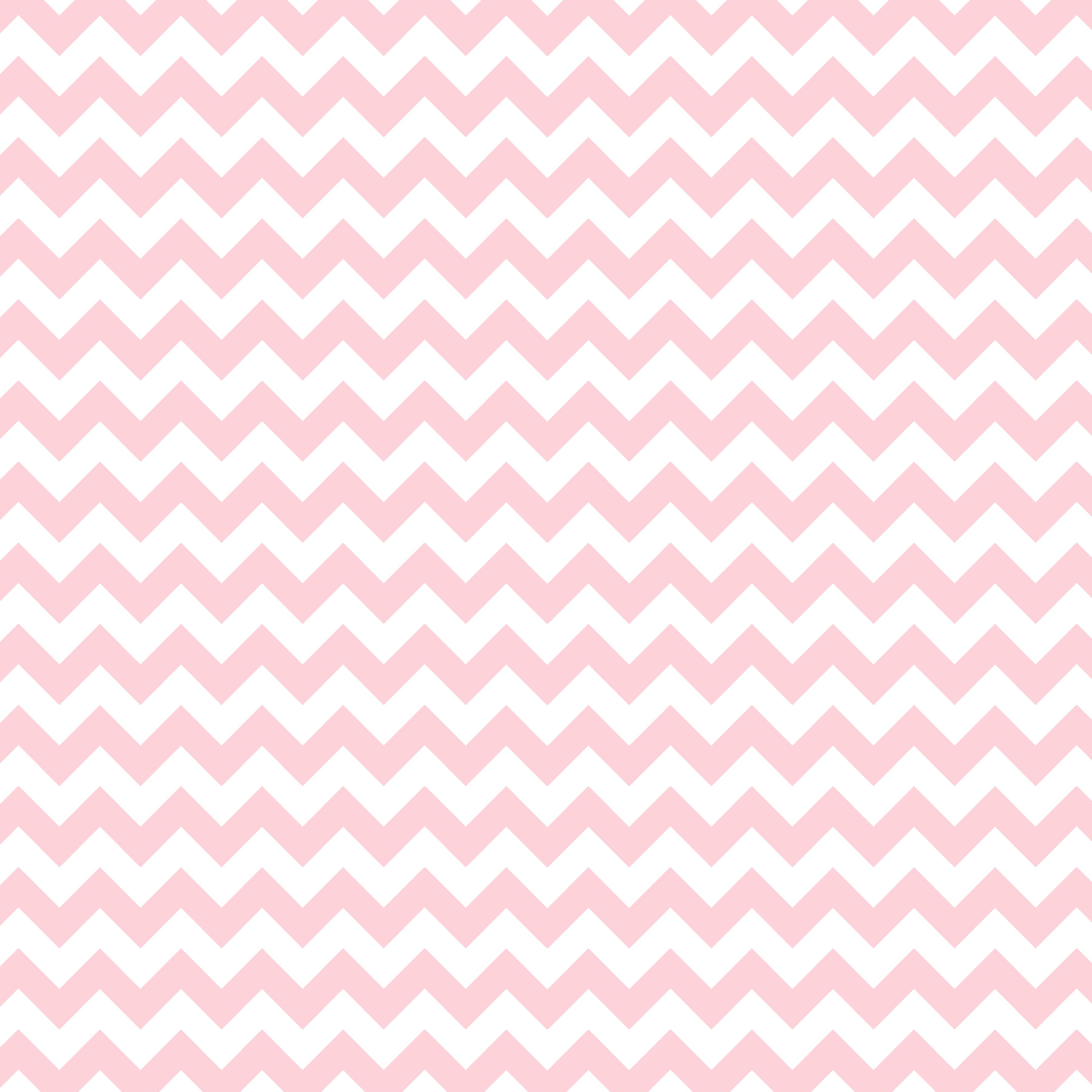 Pink and White Chevron 3600x3600