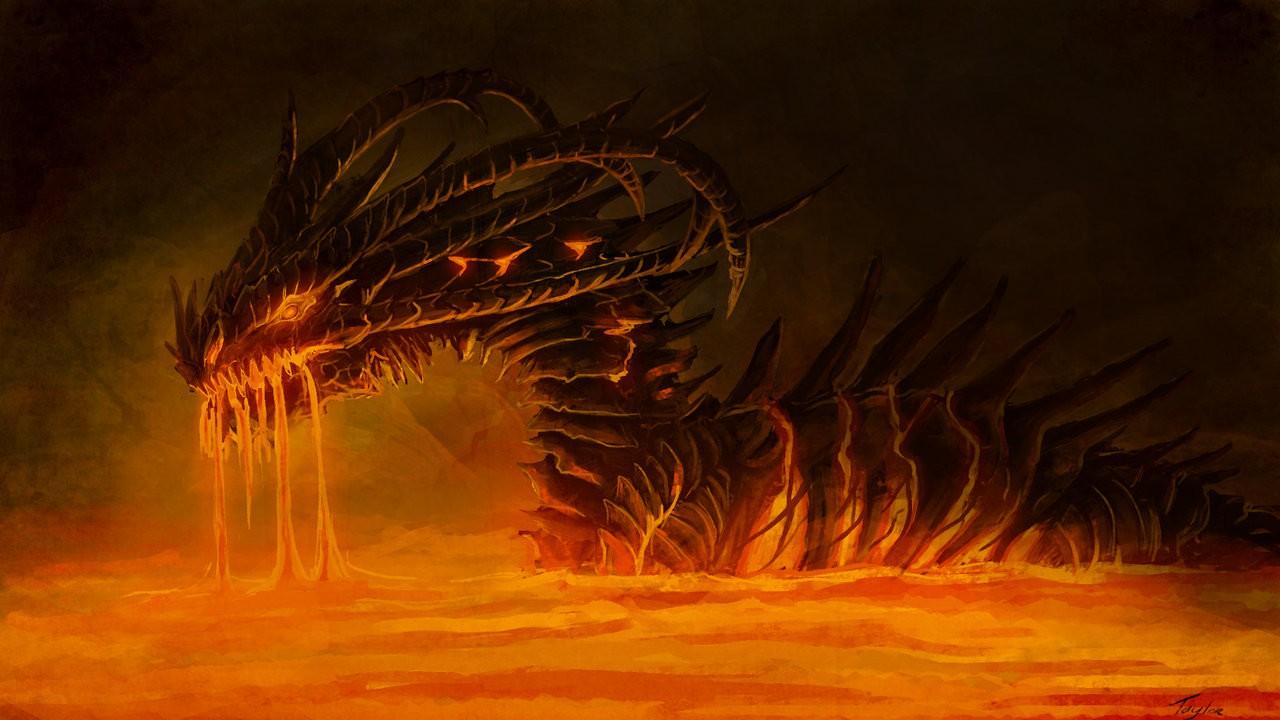 Free Download Dragons Lava Wallpaper 1280x720 Dragons Lava