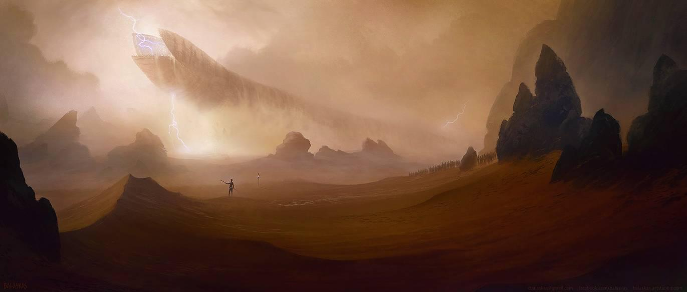 If the 2020 Dune movie has this type if scale dune 1371x583