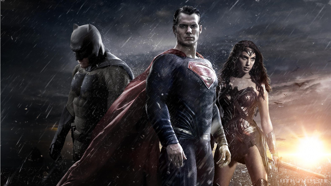 Batman v Superman Dawn of Justice 2016 HD Wallpaper   iHD Wallpapers 1366x768