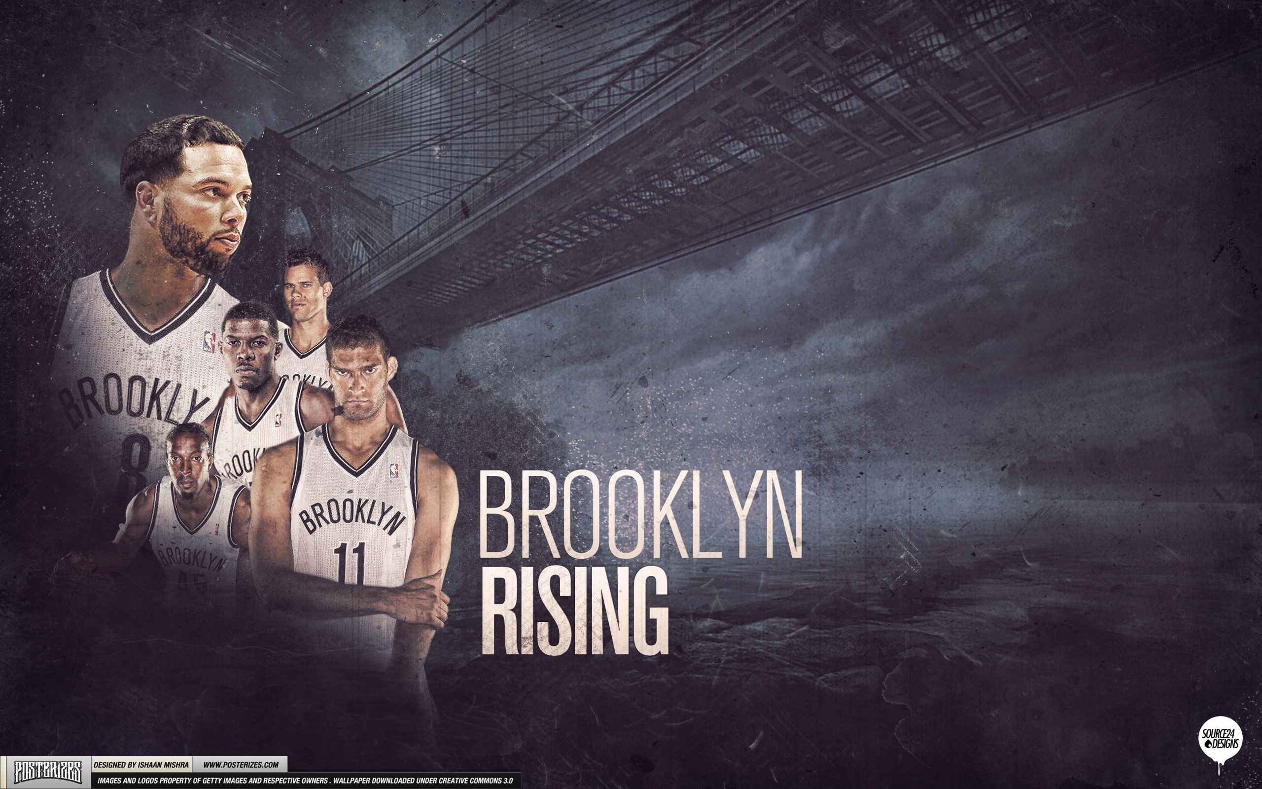 Brooklyn Nets Rising 2012 2560x1600 Wallpaper 2560x1600