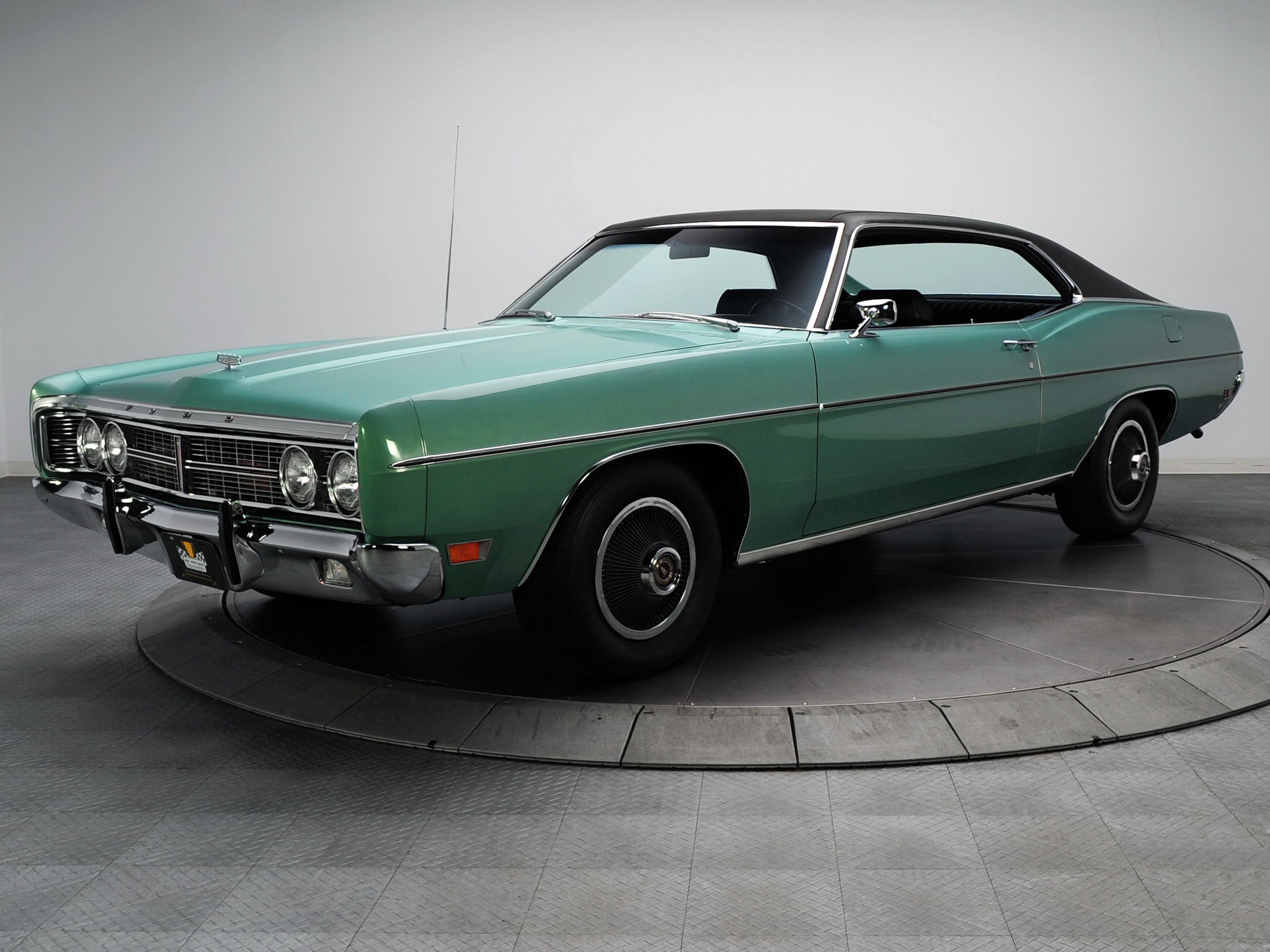 1970 ford galaxie 500 sportsroof classic muscle wallpaper background