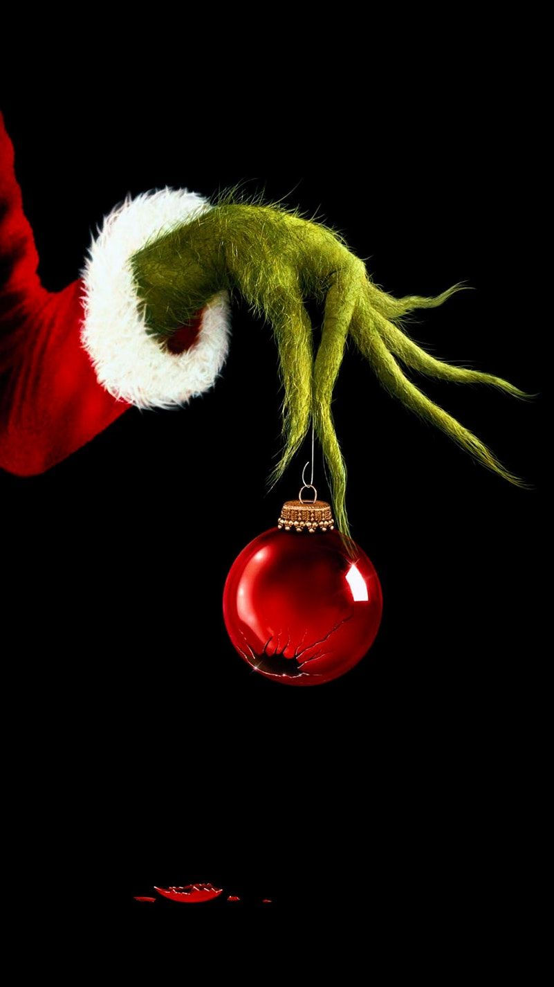 How the Grinch Stole Christmas 2000 Phone Wallpaper in 2019 801x1426