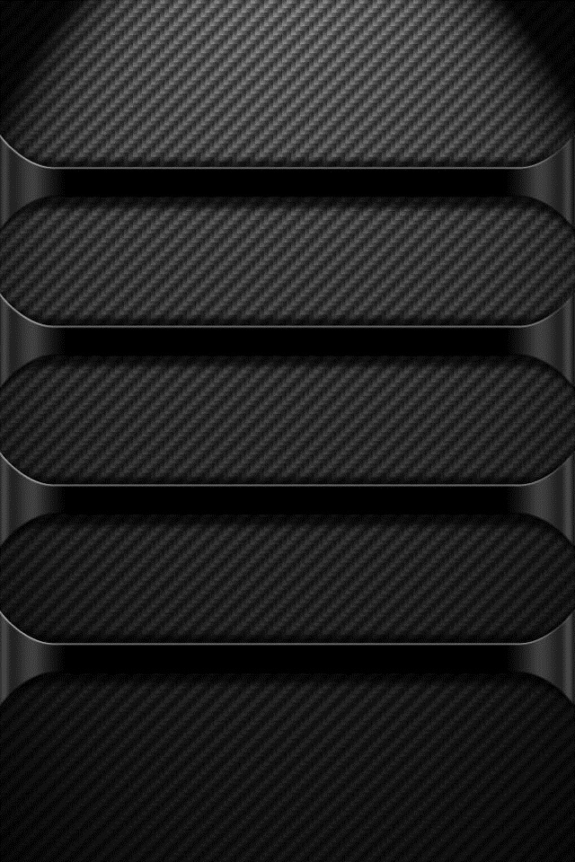 Black Chrome Hd iphone4 wallpaper 640x960 640x960