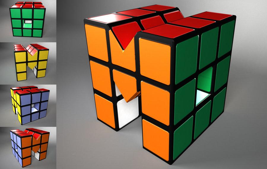 Rubix Cube Logo by ButtZilla 900x569