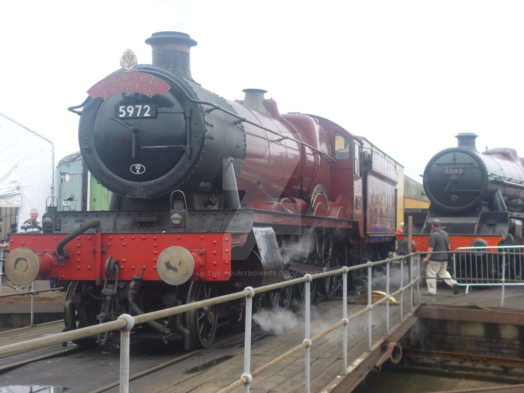 Hogwarts Express at Tyseley Loco Works by Dan the Countdowner on 1024x768