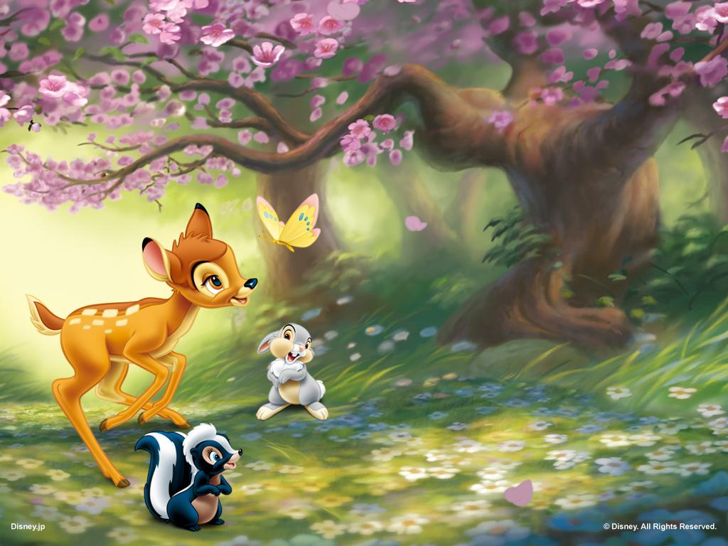 Disney Bambi 1024x768