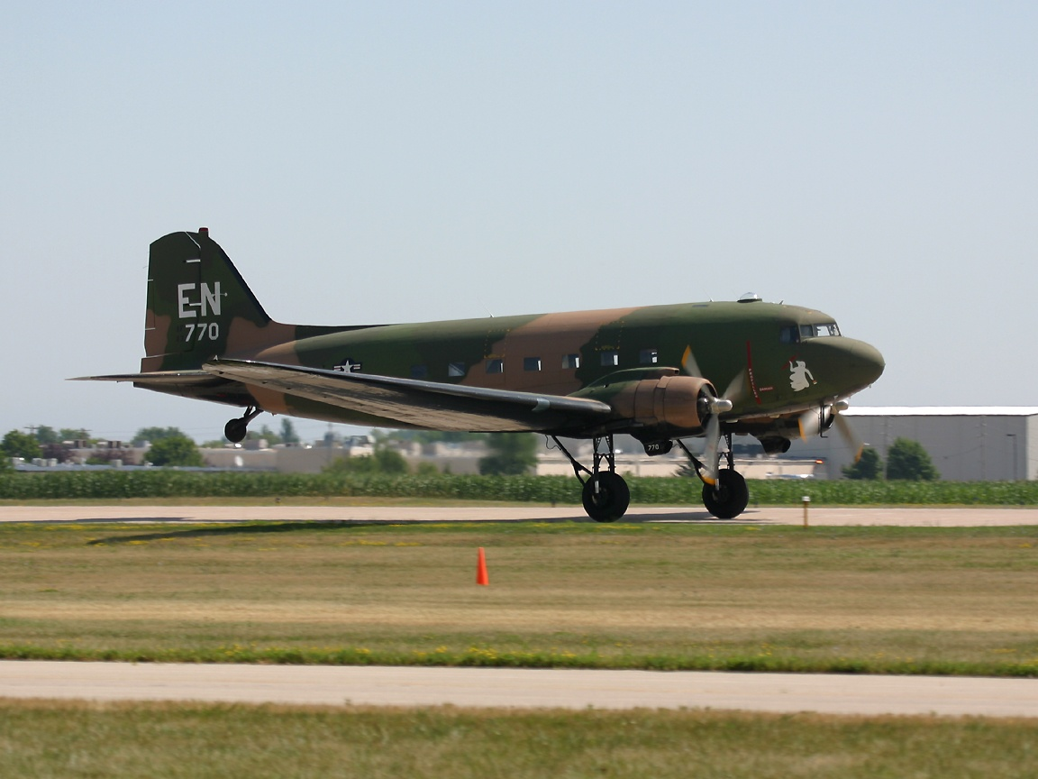 Post World War Two Aircraft at the Oshkosh AirVenture Airshow 1152x864