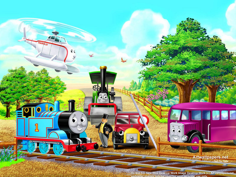 Thomas And Friends Cake Topper 800x600