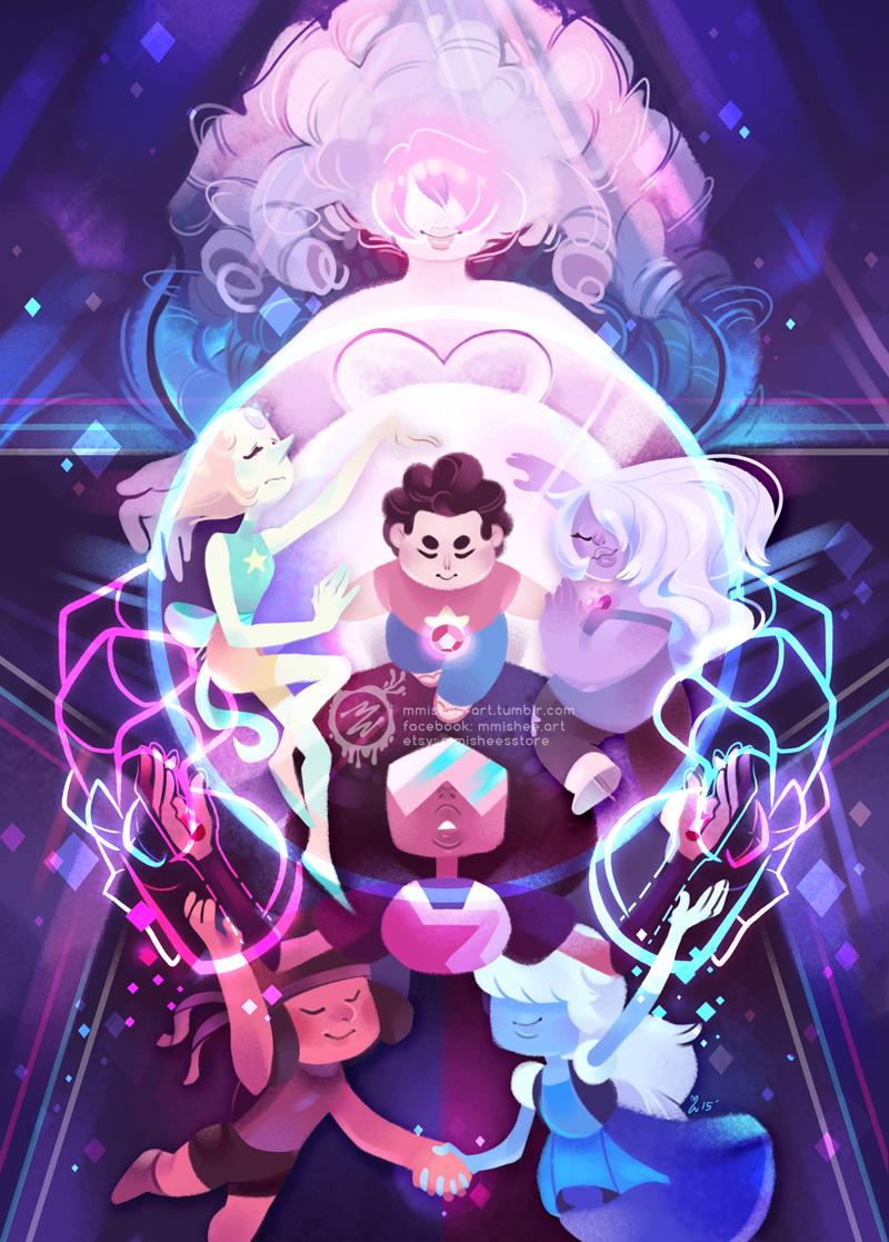 Steven Universe favourites by MichealRavencroft 800x1117
