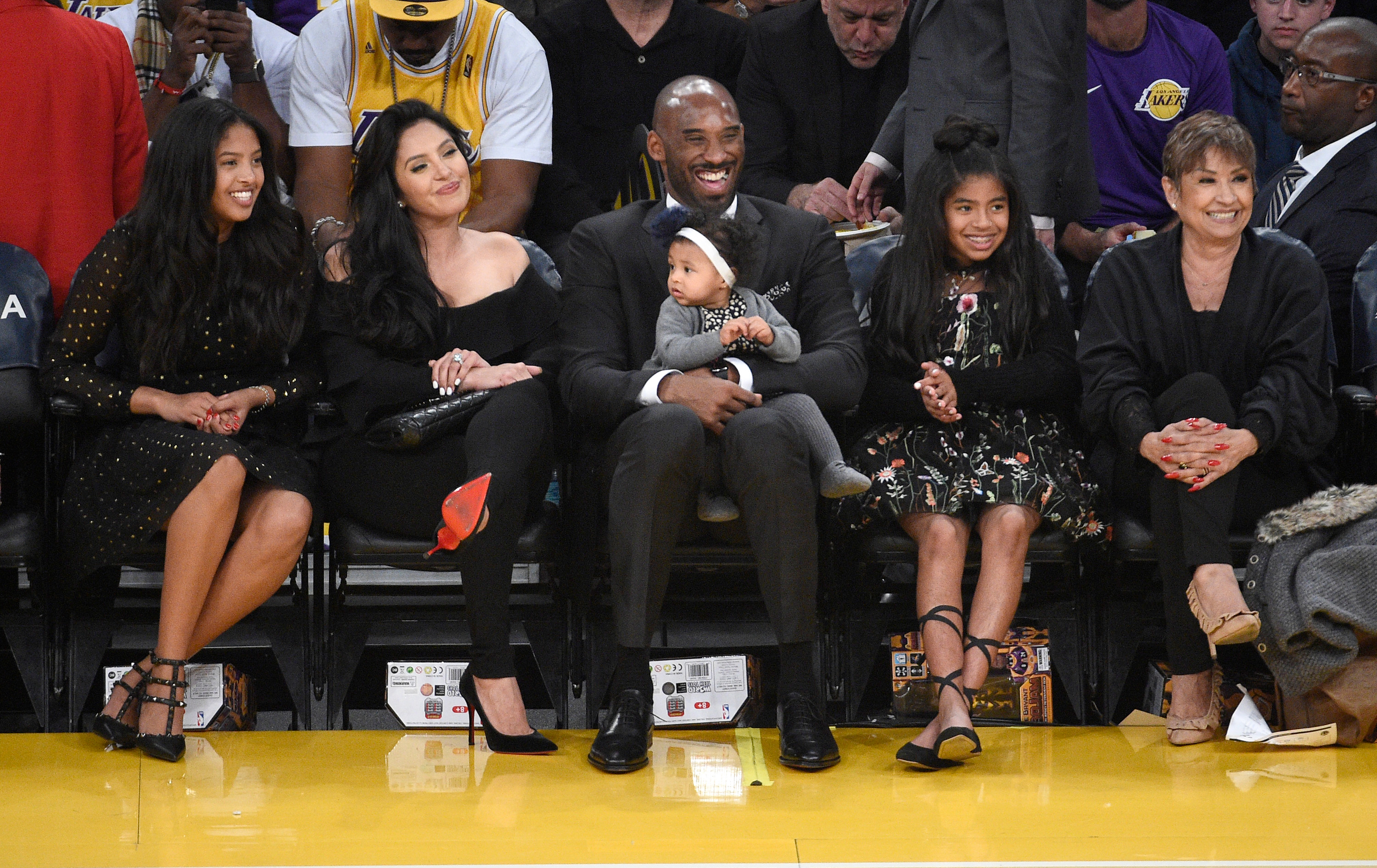 Kobe Bryant Brings Family to Jersey Retirement Ceremony PEOPLEcom 3000x1892