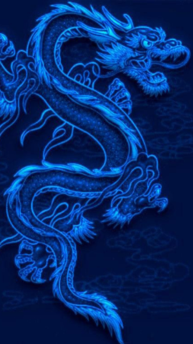 Blue Dragon iPhone 5 wallpapers Background and Wallpapers 640x1136