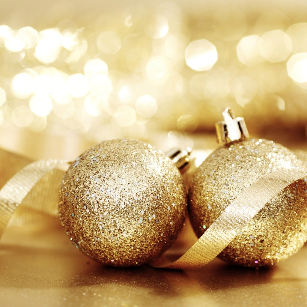 iPad Wallpapers Download Christmas Ornaments iPad mini 1024x1024