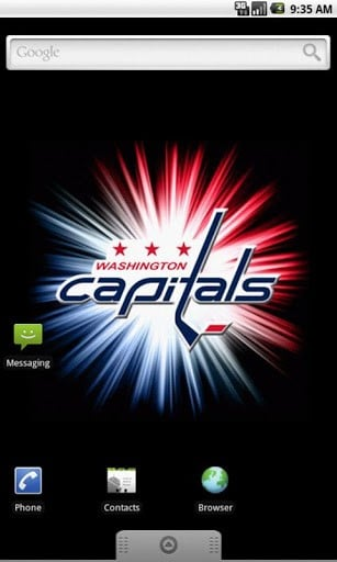 View bigger   Washington Capitals Wallpaper for Android screenshot 307x512