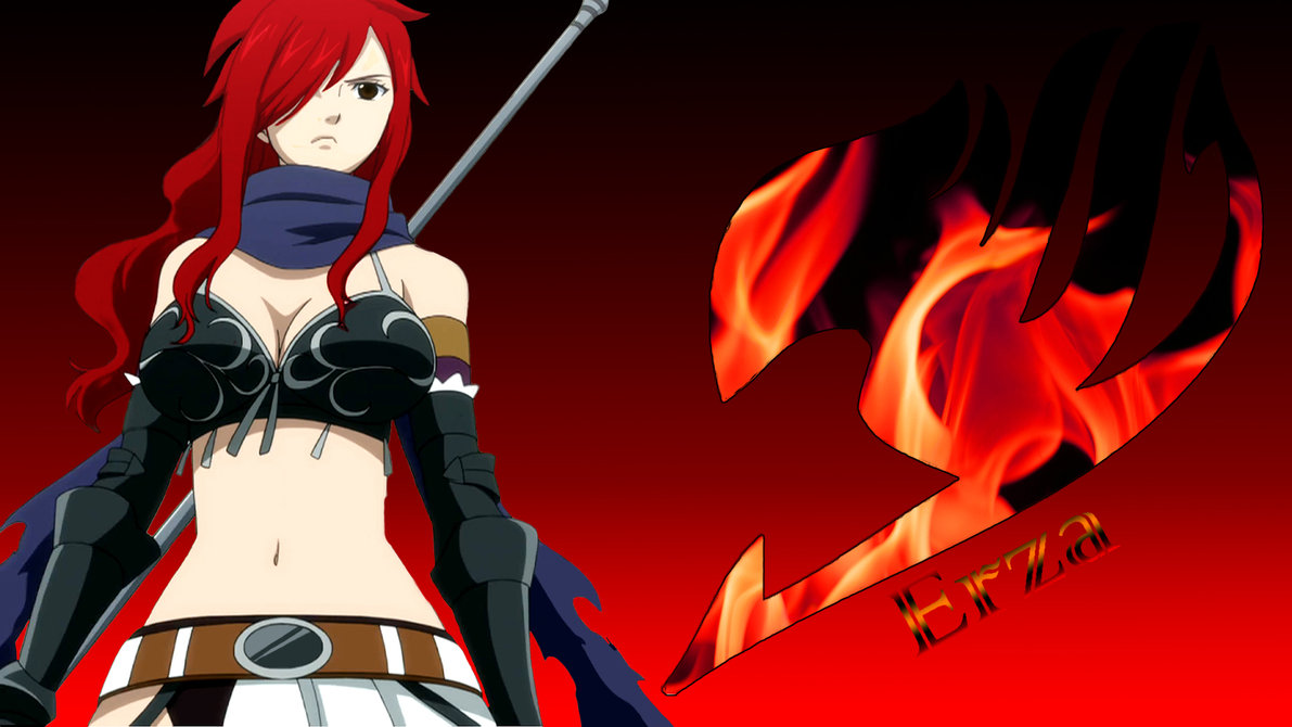 Erza Wallpaper by Jondedy 1191x670