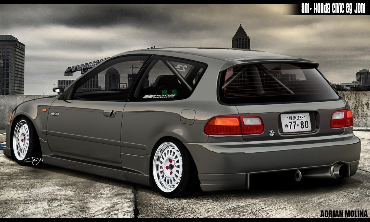 16] Honda Civic EG Hatch Wallpapers on WallpaperSafari 1280x768
