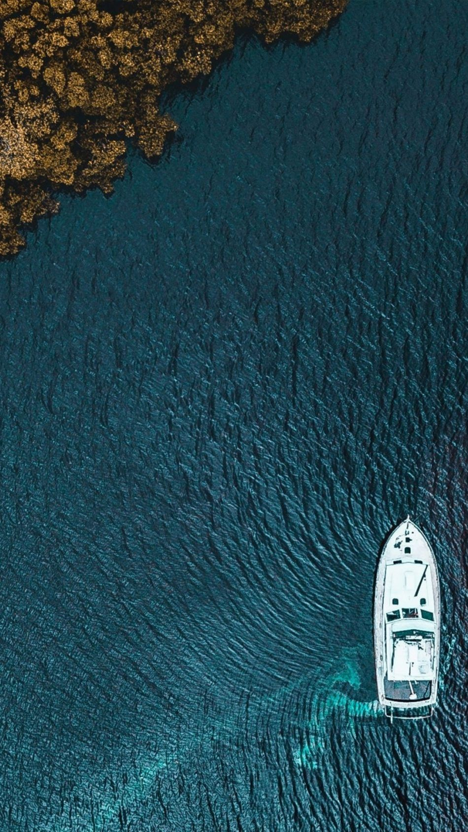 Boat Aerial View From Sky Aerial view Mobile wallpaper 950x1689