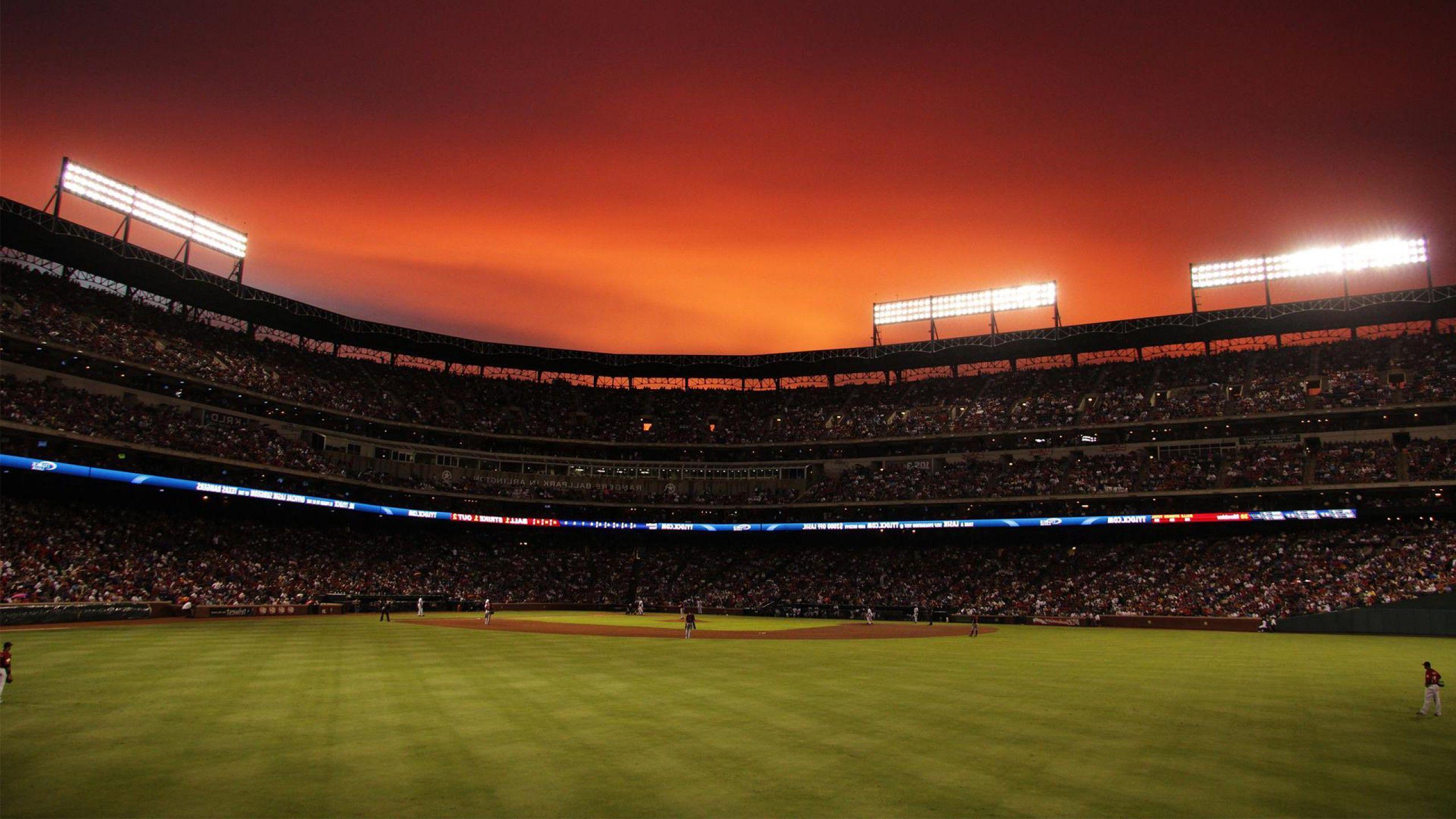 Baseball Field Backgrounds 2560x1440