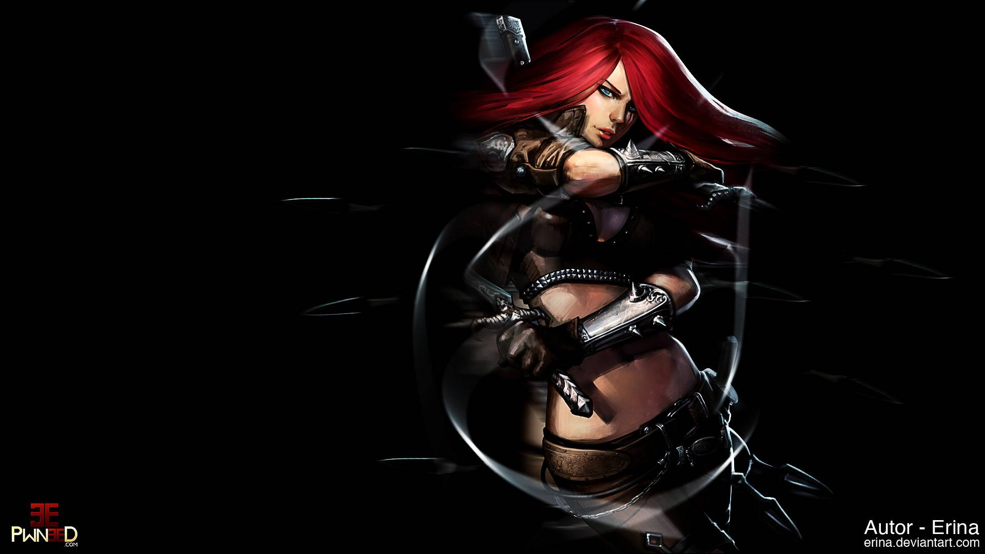 43 Lol Katarina Wallpaper Hd On Wallpapersafari