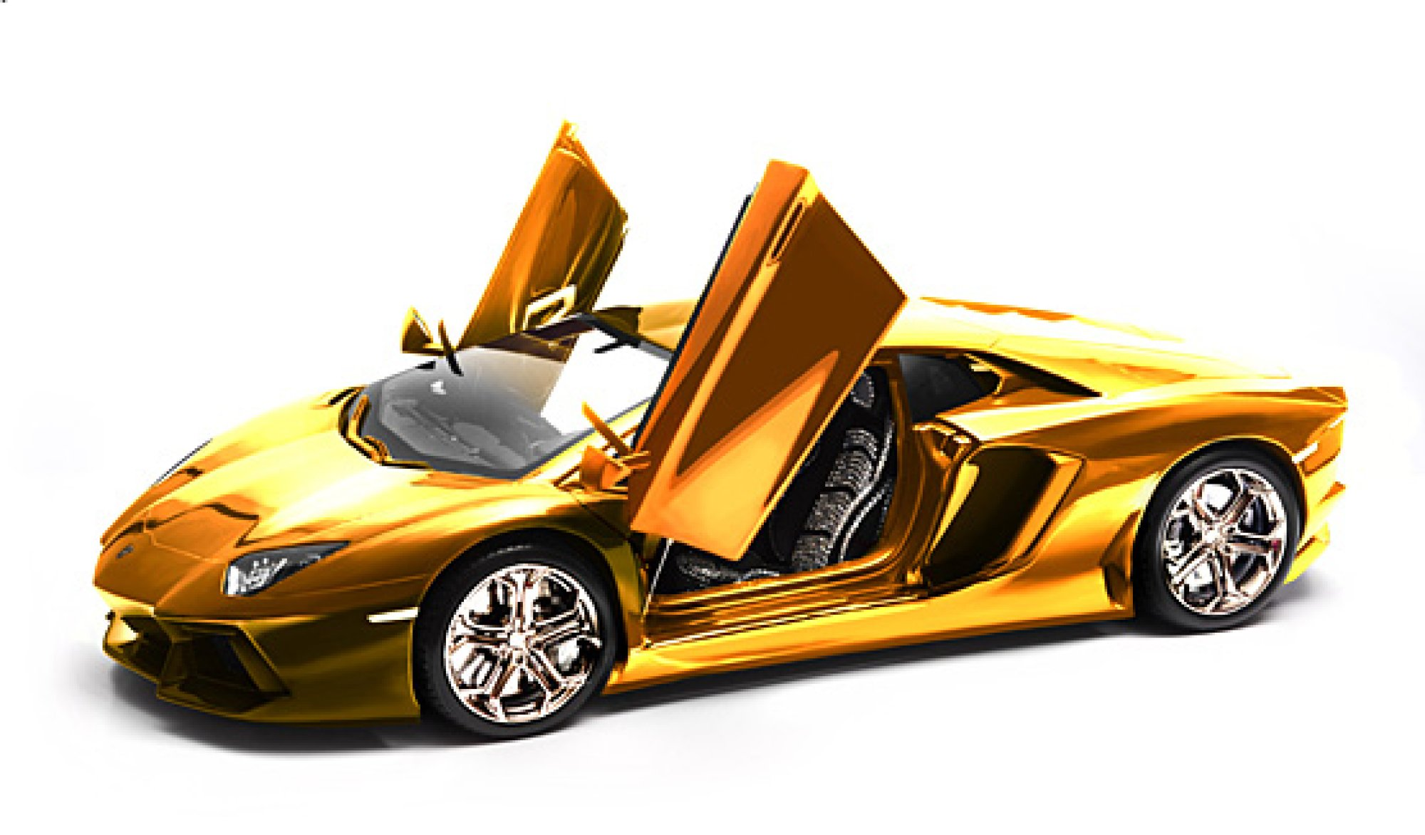 chrome gold car wallpaper - photo #6