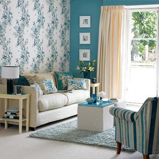 Contoh Gambar Wallpaper Dinding Untuk Ruang Tamu Sempit Rumah Idaman 513x513