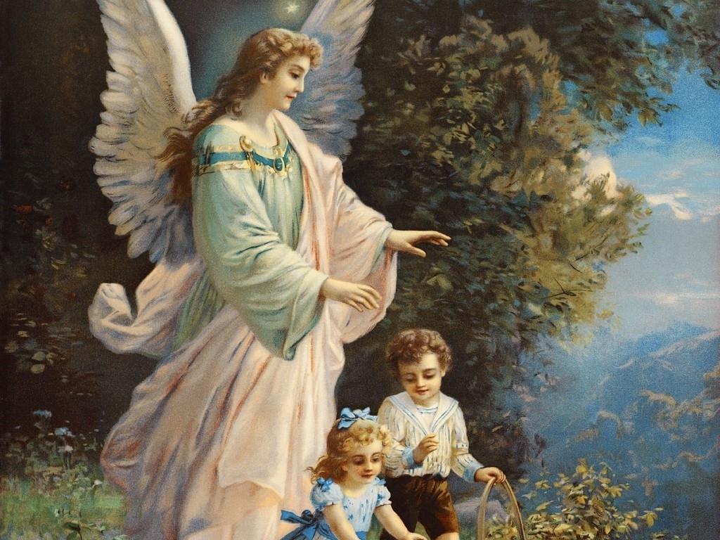 Guardian Angel   Angels Wallpaper 10152074 1024x768