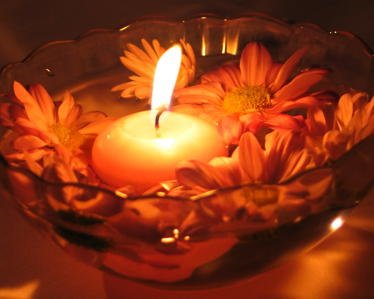 Candles Wallpaper 1280x1024