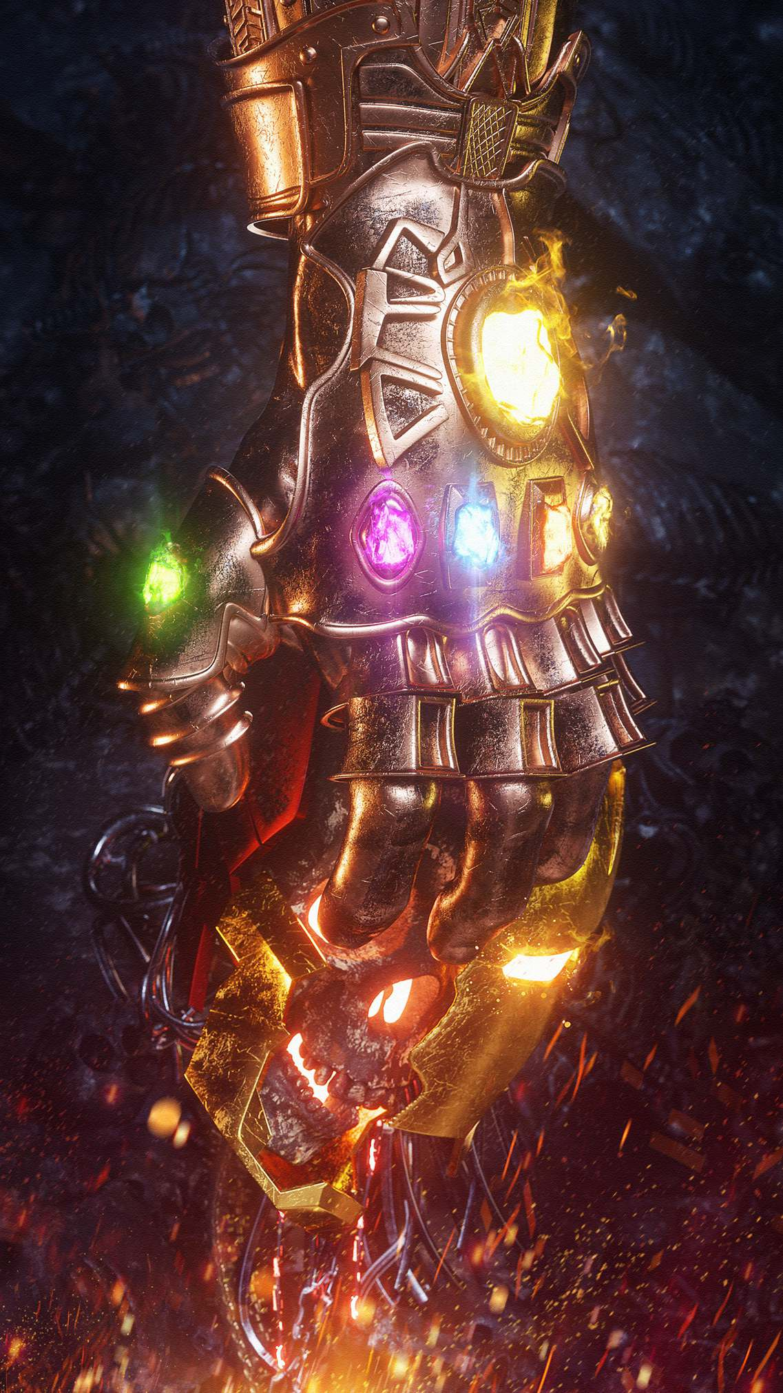 The Infinity Gauntlet Thanos Infinity War Iron Man Death 1137x2022