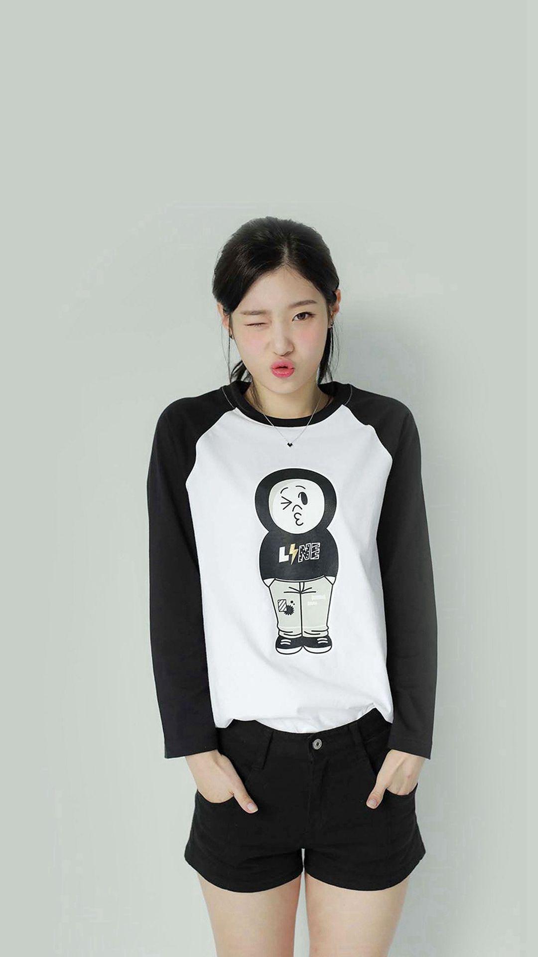 Kpop IOI Chayeon Girl Cute Wink iPhone 7 wallpaper iPhone 68 1080x1920