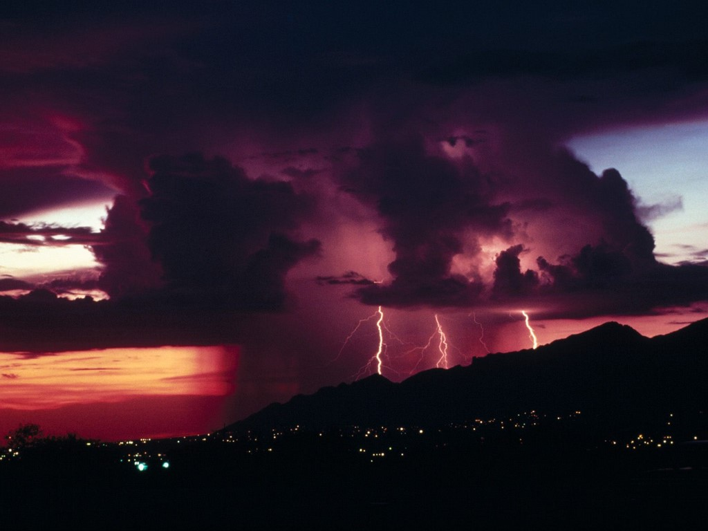 Thunderstorms   Thunderstorm Wallpaper 25416163 1024x768