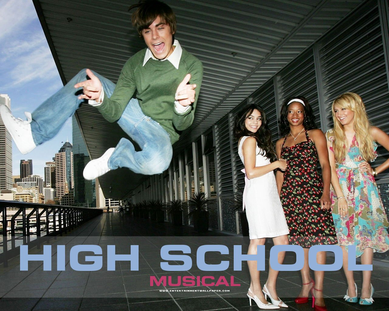 HSM   High School Musical Wallpaper 7091948 1280x1024