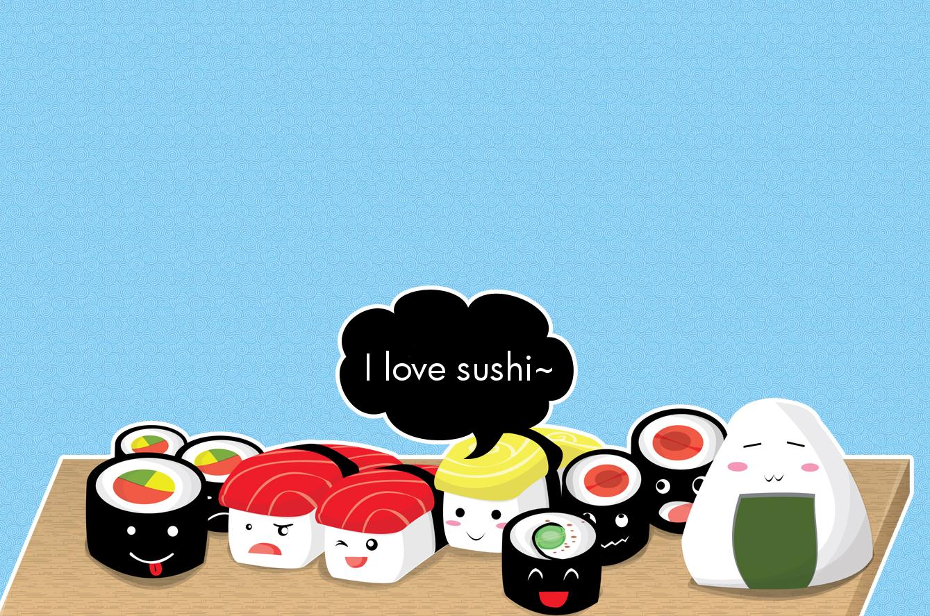 Pin by Stephanie Medina on asato Food wallpaper Japanese Sushi 1339x887
