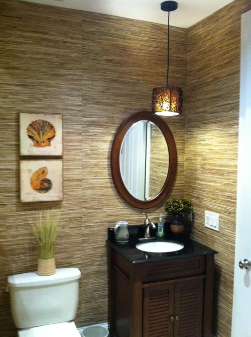can i put this glass cloth bamboo wallpaper over existing wallpaper 500x670