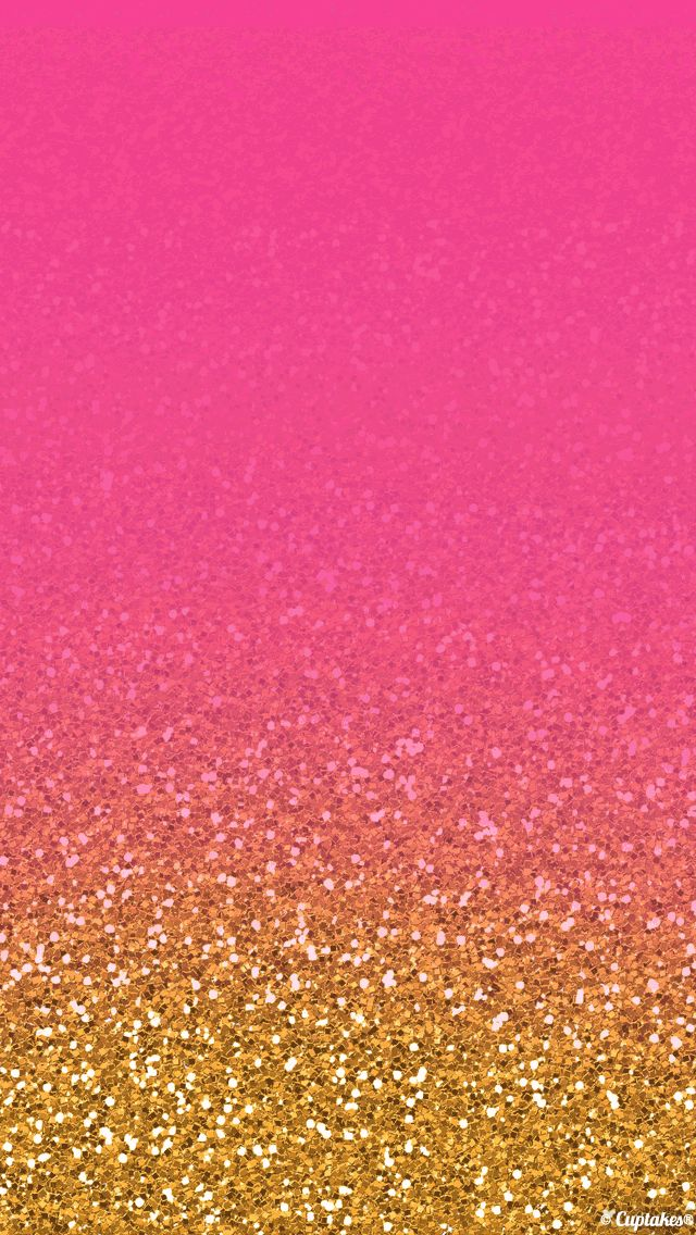 Pink And Gold Glitter Background Pink gold glitter 640x1136