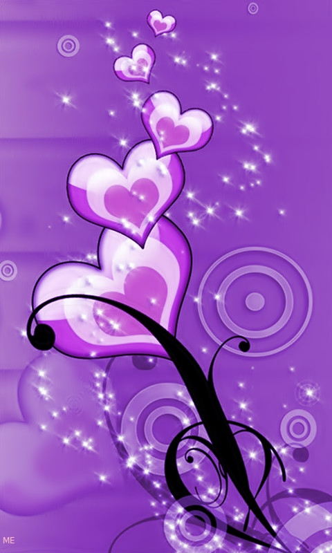Hd Love Wallpapers For Mobile 480x800 : Purple Wallpapers for Mobile - WallpaperSafari