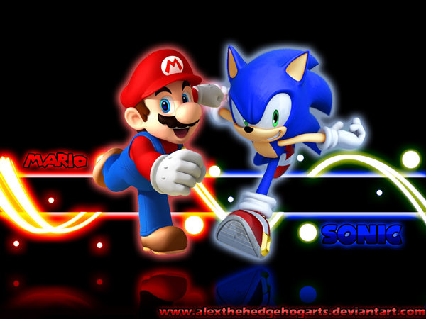 49 Sonic and Mario Wallpaper