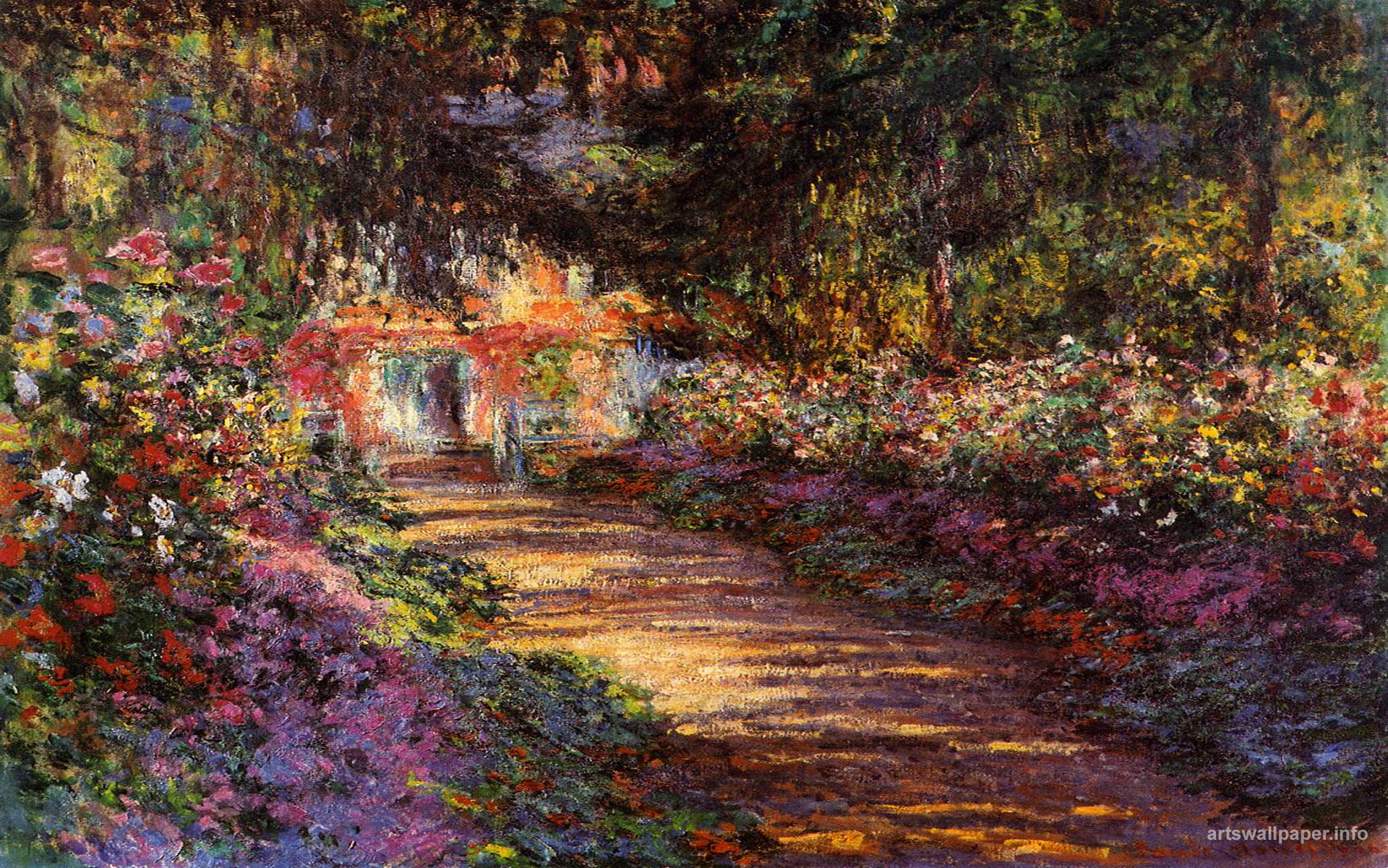Monet wallpaper for computer wallpapersafari for Abstract impressionism definition