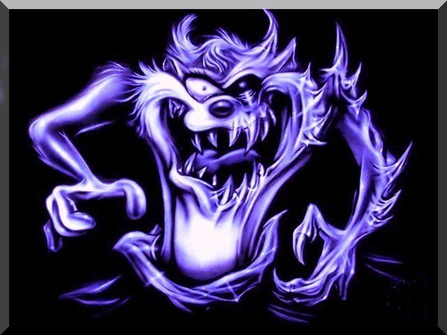 free 640X480 evil taz 640x480 wallpaper wallpaper screensaver preview 640x480