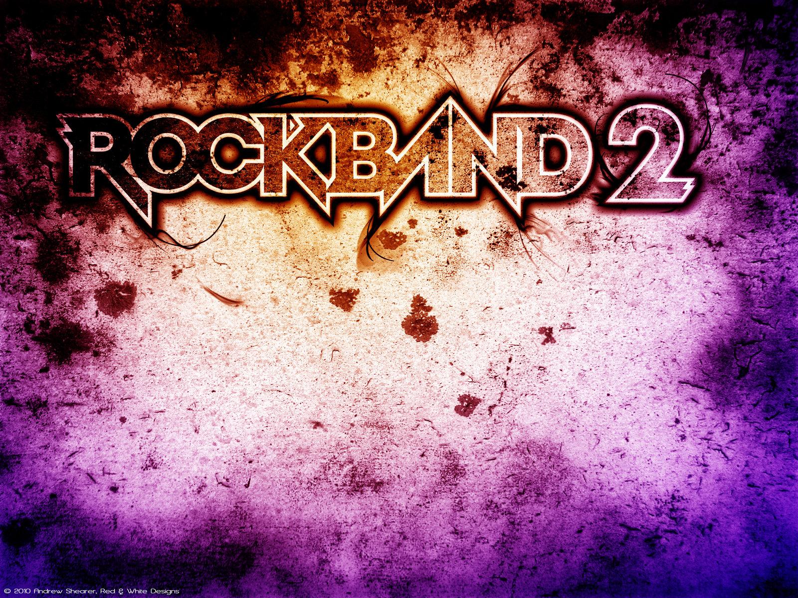 Rock Band 2 Wallpaper by RedAndWhiteDesigns on DeviantArt