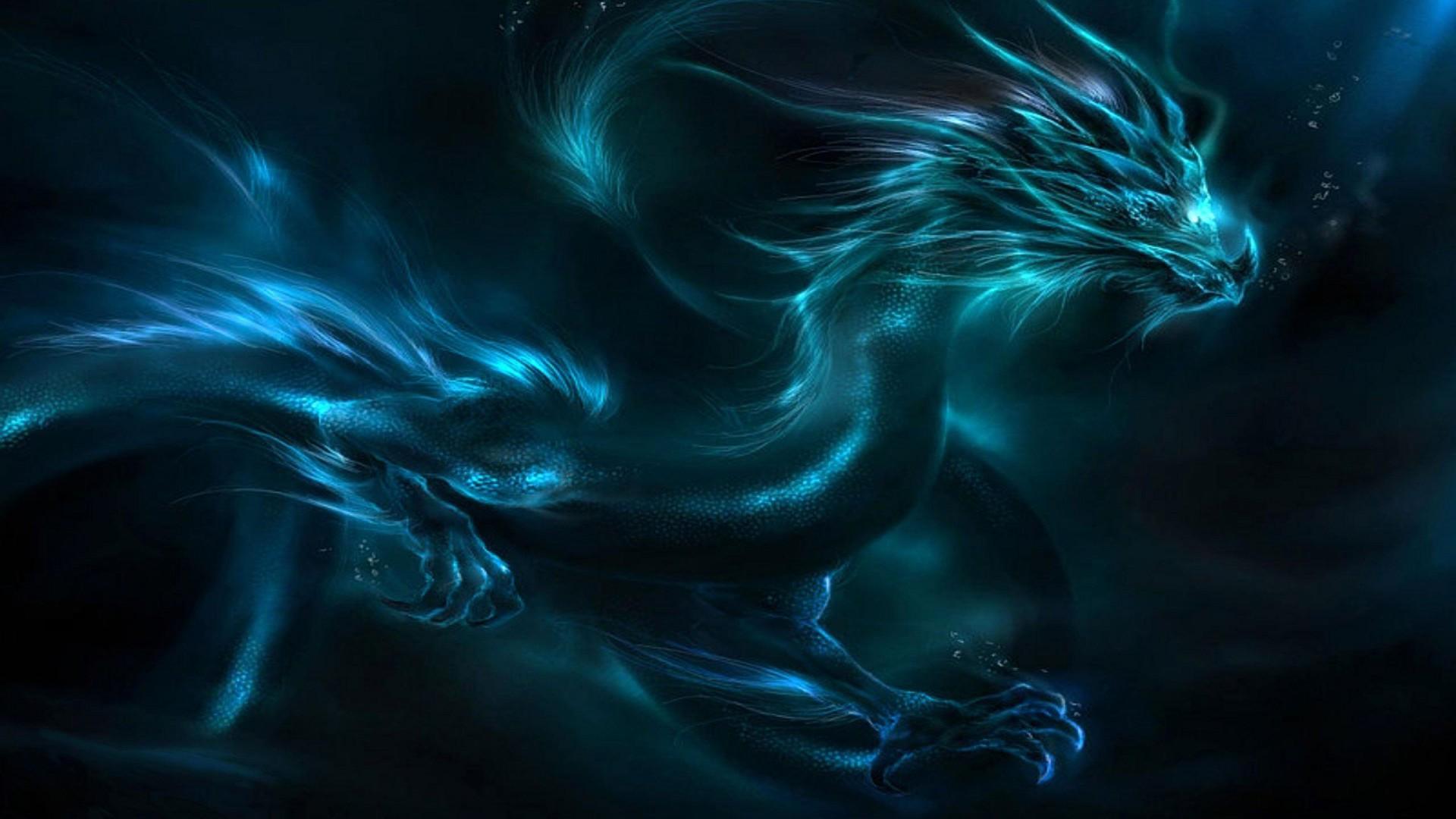 Blue Lightning Dragon Wallpaper HD Wallpaper Area HD 1920x1080