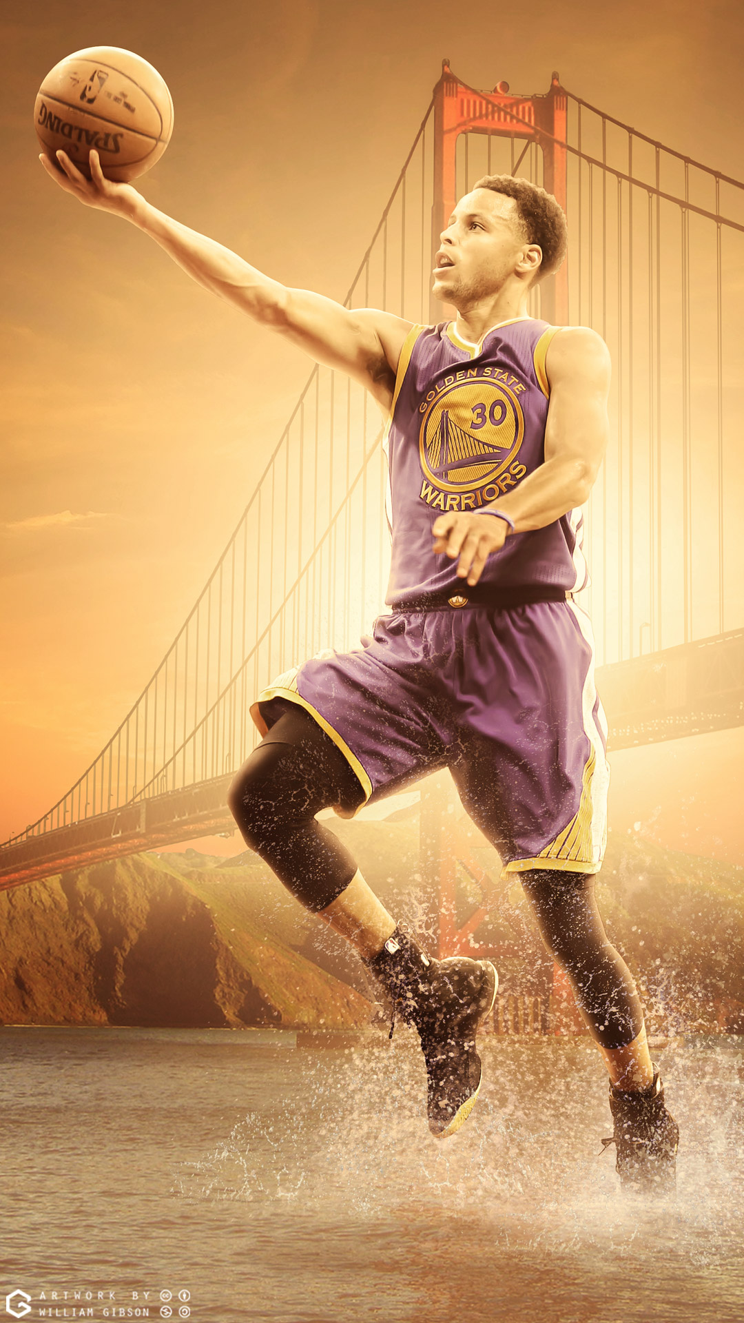 Stephen Curry Warriors Mobile Wallpaper Basketball Wallpapers at 1080x1920