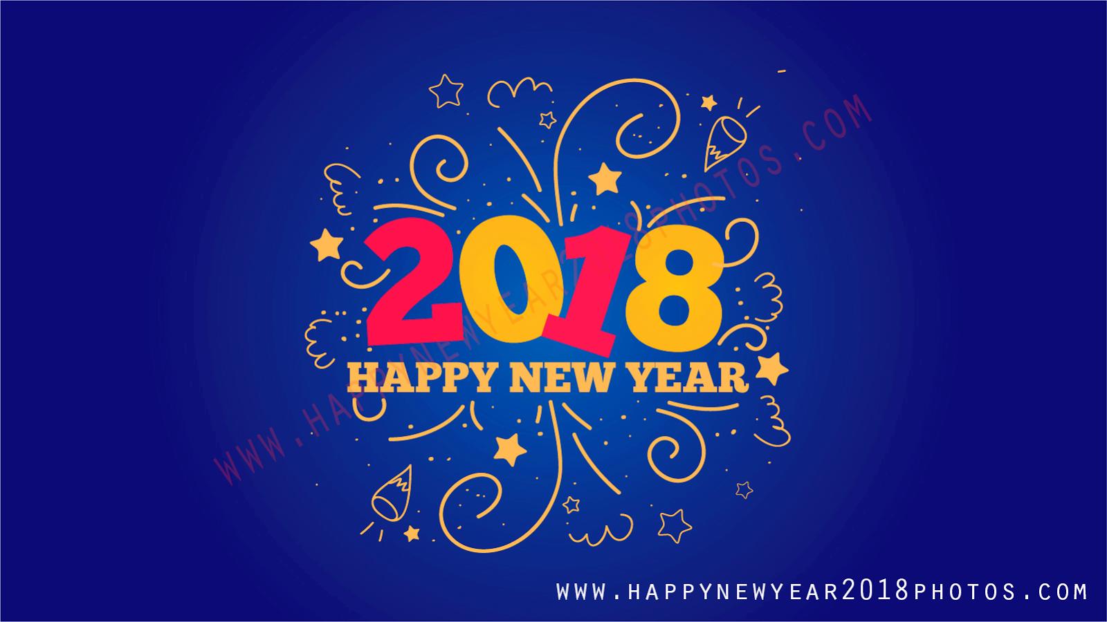Happy New Year 2018 1600x900