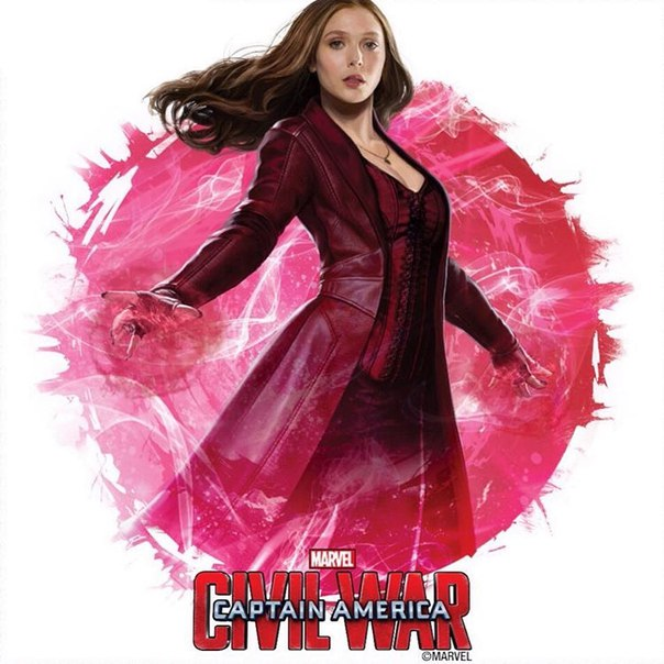 Scarlet Witchs Elizabeth Olsen updated costume for this latest MCU 604x604