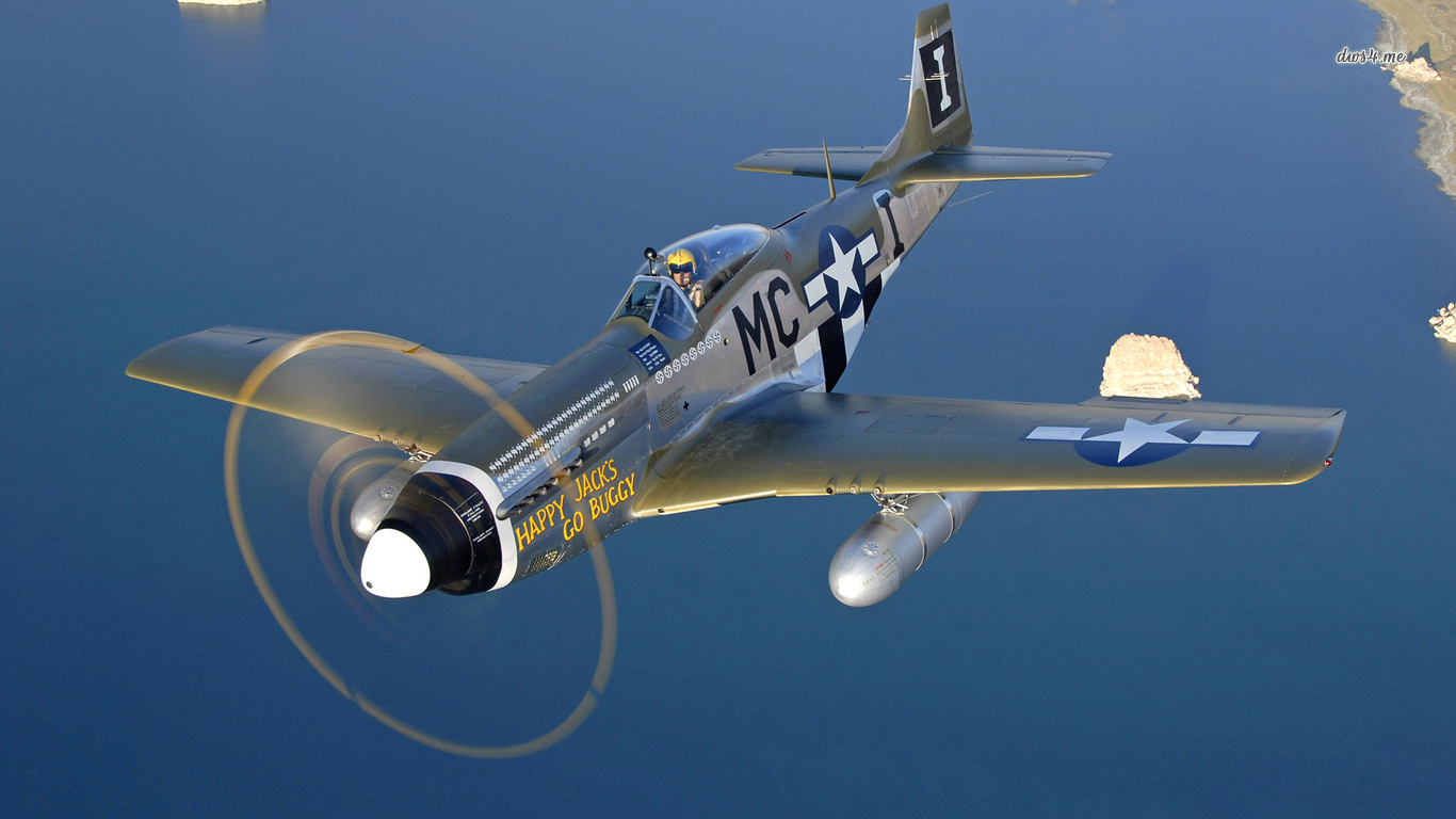 North American P 51 Mustang wallpaper   Aircraft wallpapers   9481 1366x768