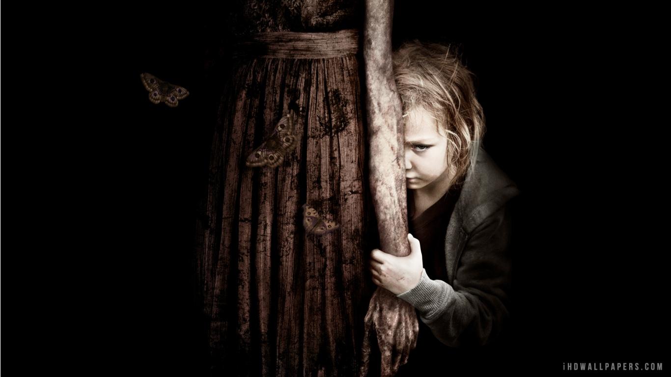 Mama Horror Movie Wallpaper 1366x768