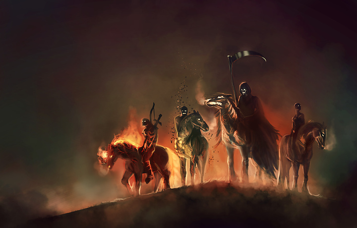 The Four Horsemen of the Apocalypse Det var tajt med rosterna dar ett 720x460