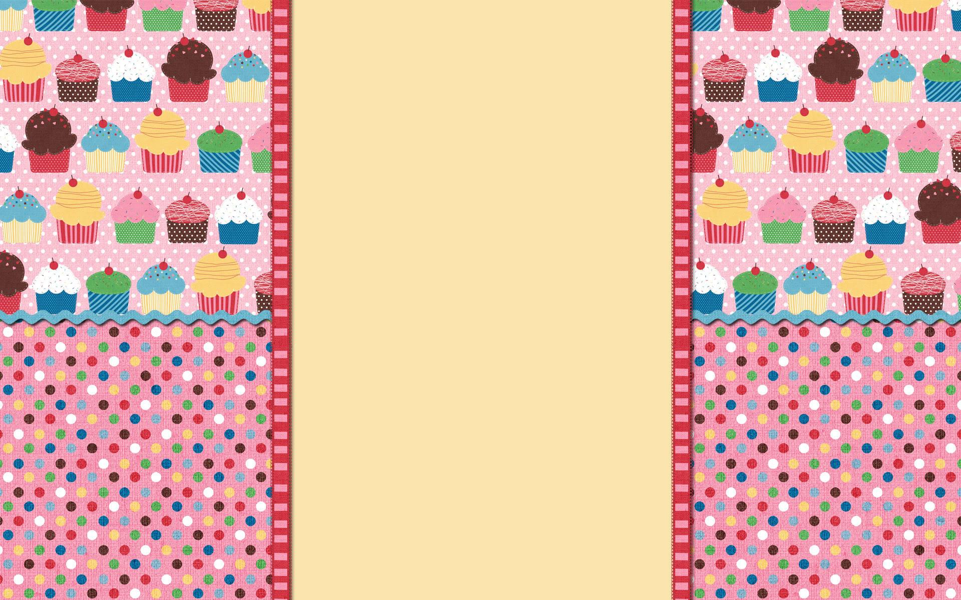 Blue Cupcake Wallpaper Wallpapersafari